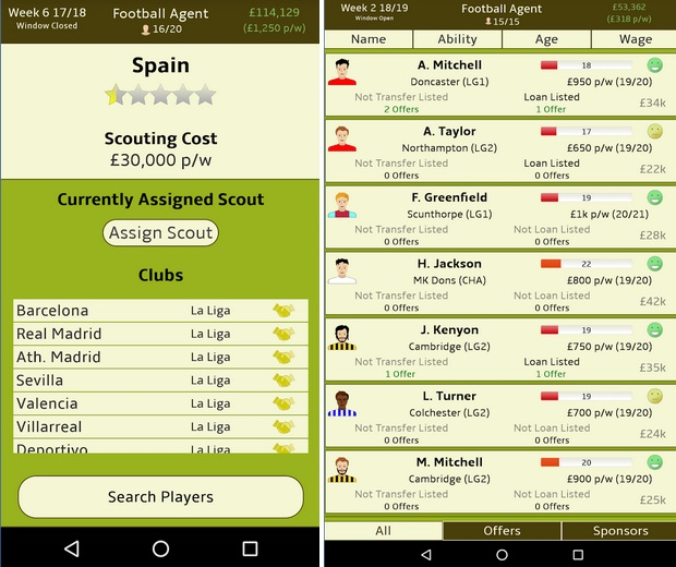 Football Agent MOD Unlimited Money