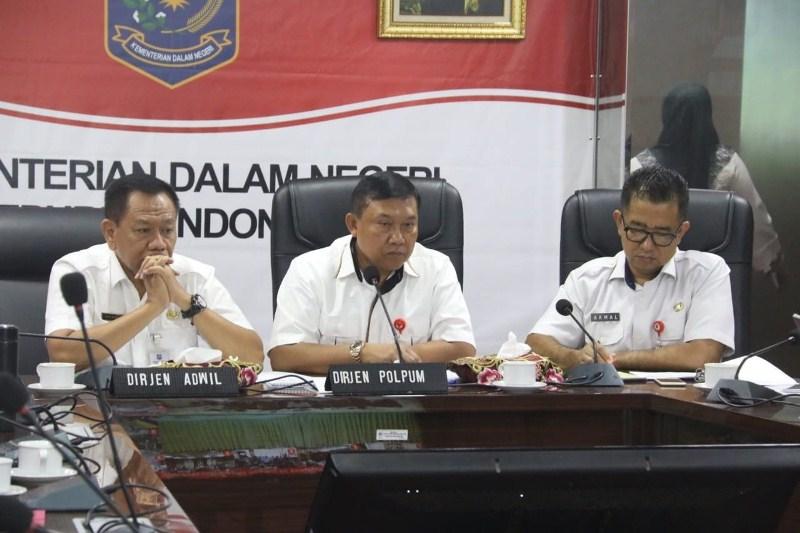 Kemendagri Cek Kesiapan Seluruh Gubernur Jelang Pemilu Serentak 2019