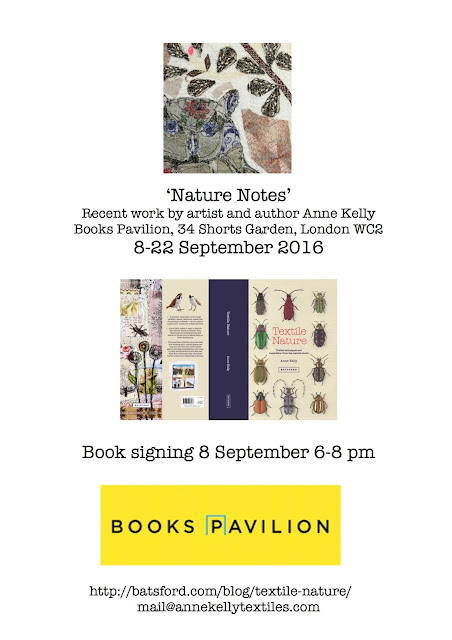 6cee1e54b18 I m excited to be showing new work and signing copies of my book at  Batsford s shop in central London in September.  Nature Notes  is a small  exhibition ...