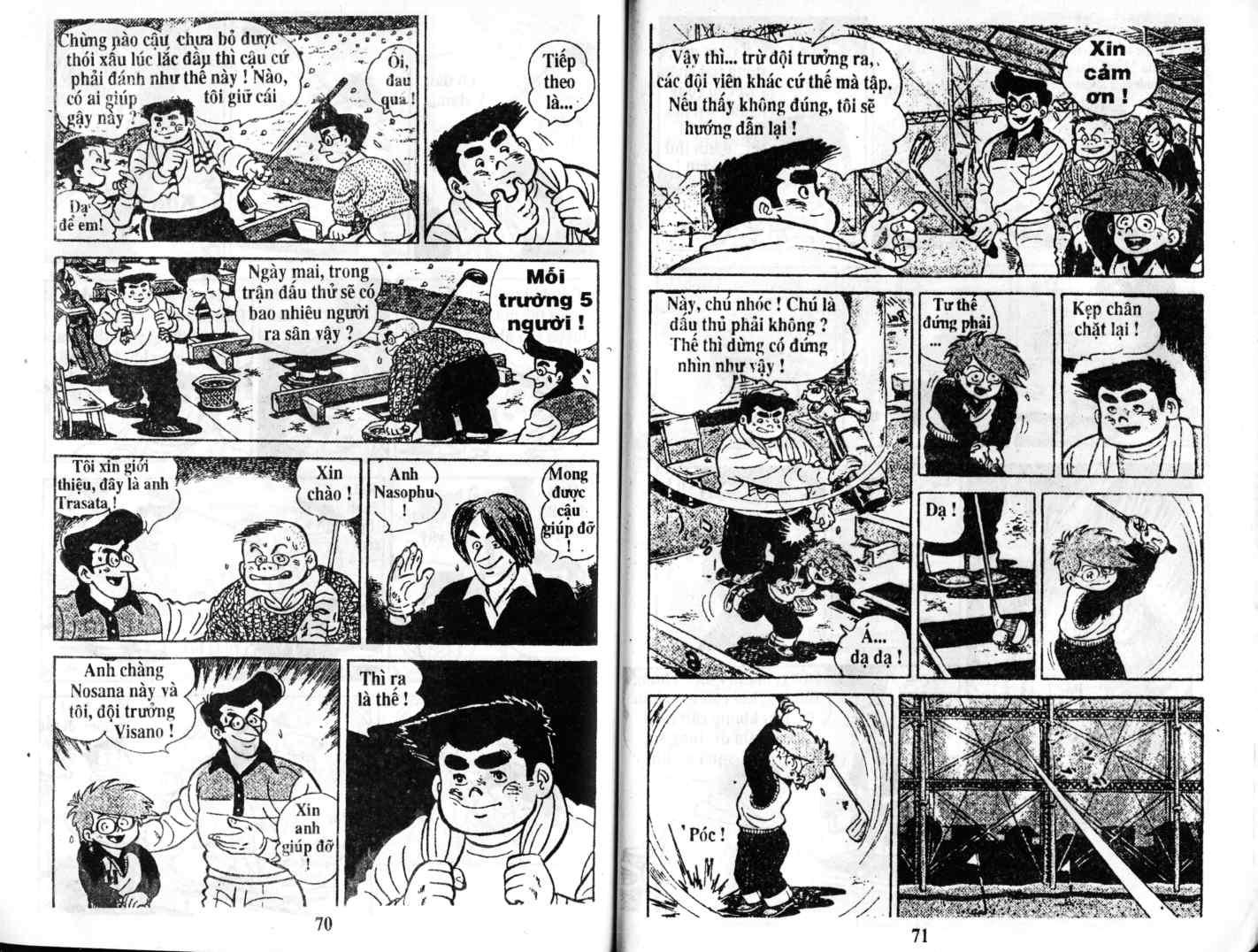 Ashita Tenki ni Naare chapter 2 trang 34