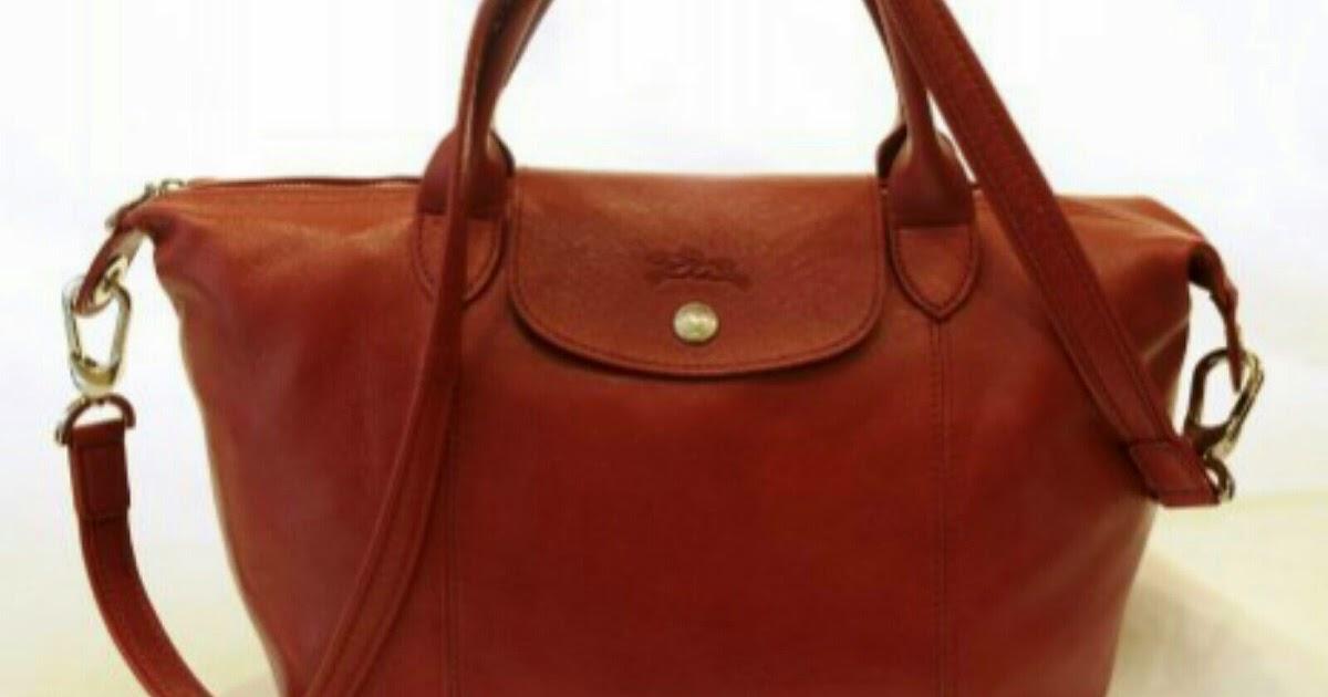 Prettytreasure2u Longchamp Le Pliage Cuir Top Handle