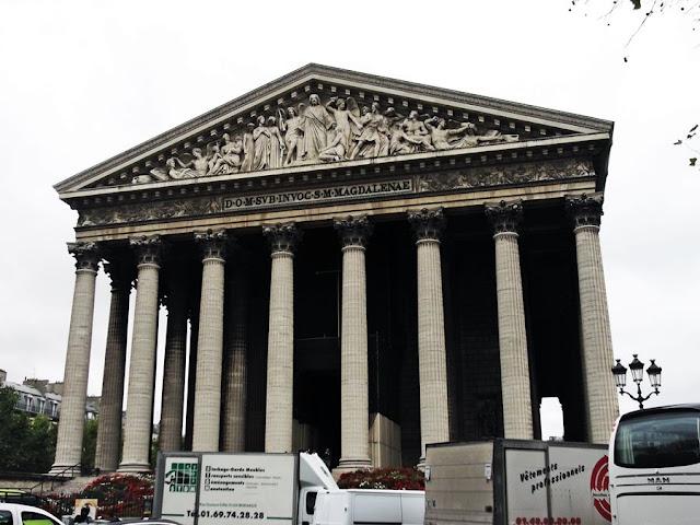 París iglesia de la Madeleine