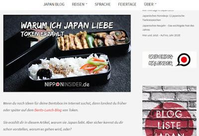 NEWS: Warum ich Japan Liebe & Auslosung der Kochaktionsgewinner