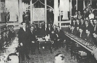 Plàcid Soler en la Penya d'Escacs Ponent en 1928