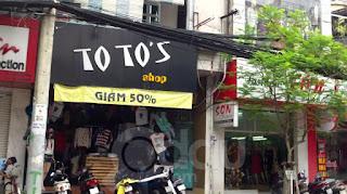 cửa hàng totoshop