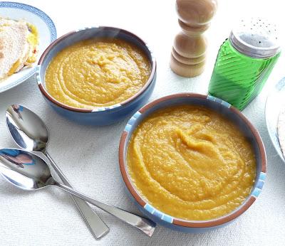 Rutabaga, Carrot, & Leek Soup