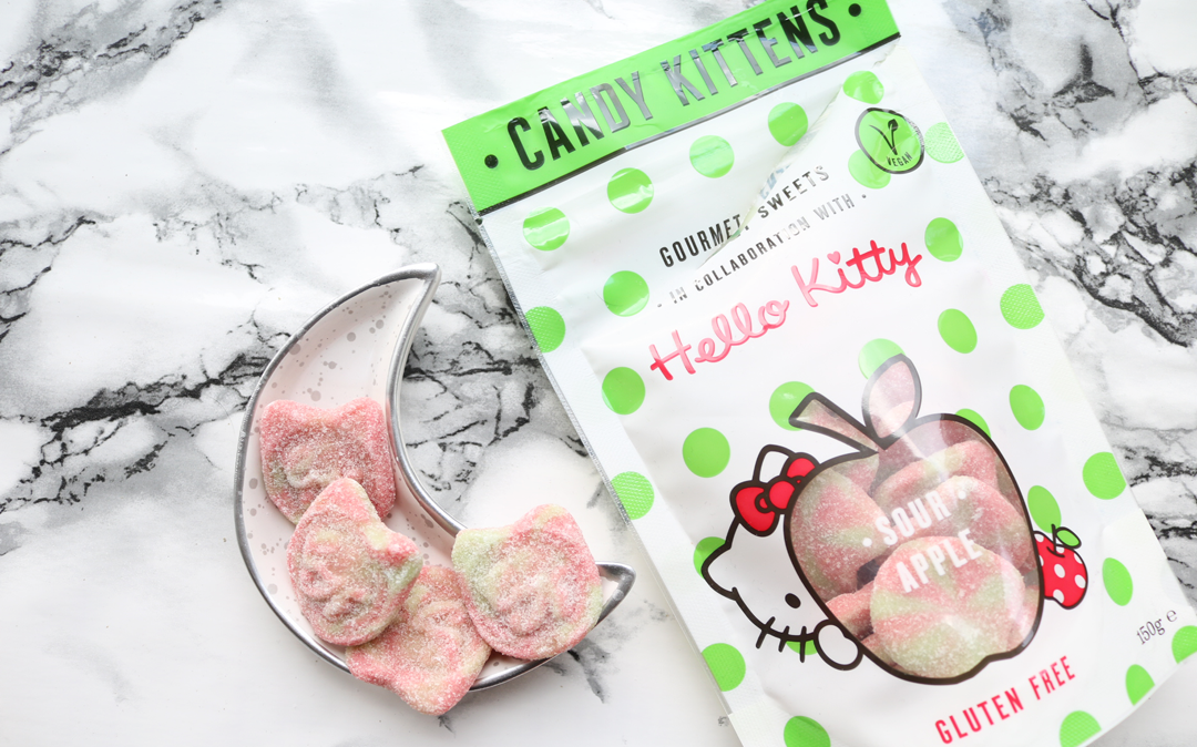 Candy Kittens X Hello Kitty Sour Apple Sweets