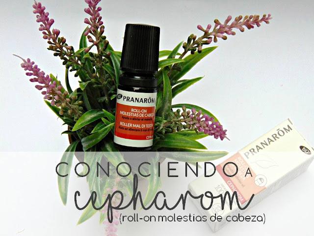 CONOCIENDO A CEPHAROM, ROLL-ON PARA LAS MOLESTIAS DE CABEZA, DE PRANARÔM