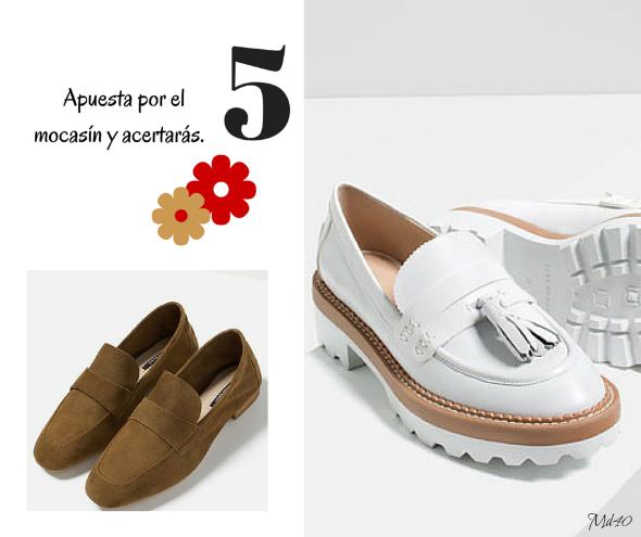 zapatos y sandalias primavera verano 2016 mocasines