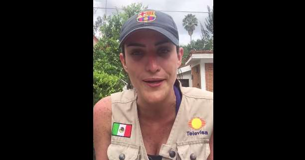 "Danielle Dithurbide, reportera de Televisa cuenta sobre ""Frida Sofía"" (VIDEO)"