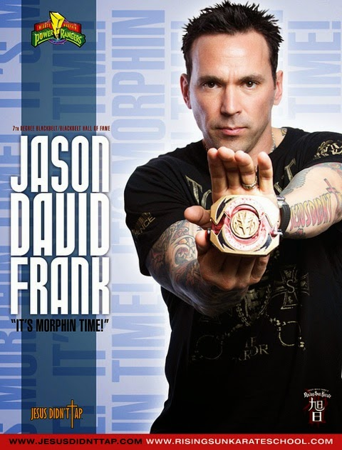 Jason David Frank as Mighty Morphin' Power Ranger