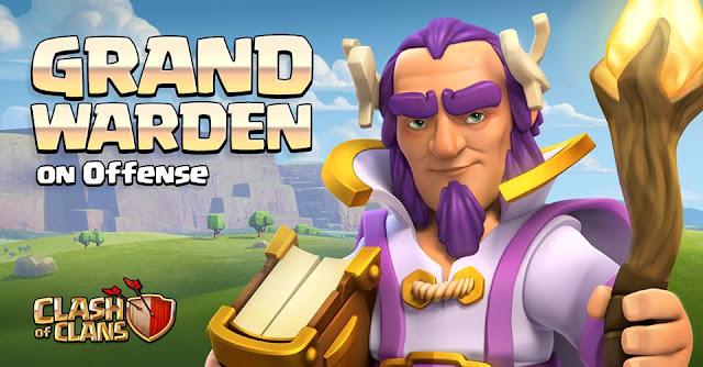 SNEAK PEEK 12 – TOWN HALL 11 UPDATE – new hero – Grand Warden