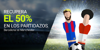 luckia promocion 20 euros Barcelona vs Manchester United 27 julio