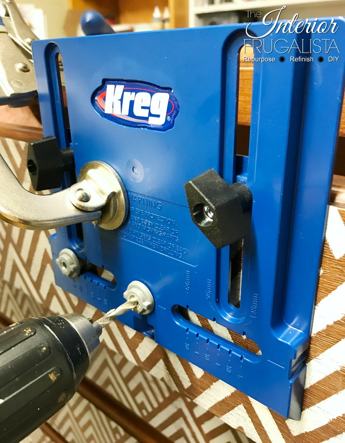 Geometric Dresser Hardware Installation Jig
