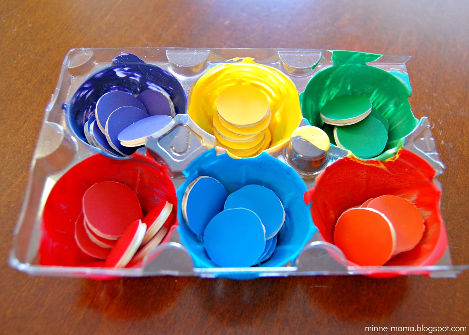Minne Mama Color Sorting For Toddlers