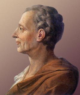 มงแต็สกีเยอ (Montesquieu) นักปรัชญาฝรั่งเศส