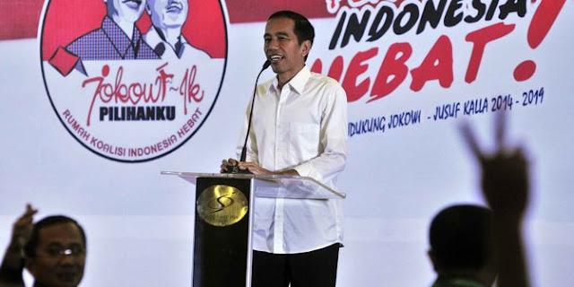 Di depan relawan, Jokowi sindir gerakan '2019 ganti presiden'