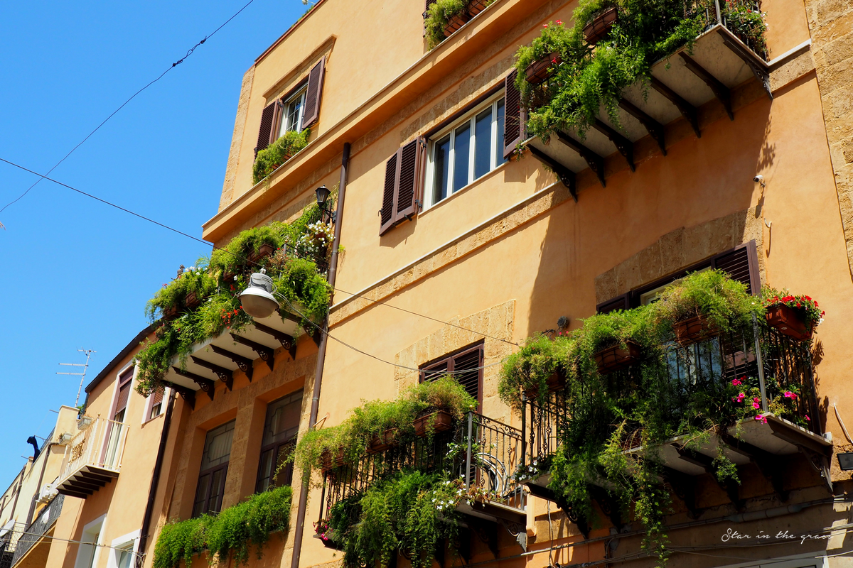 Ville d'Agrigento, Sicilia