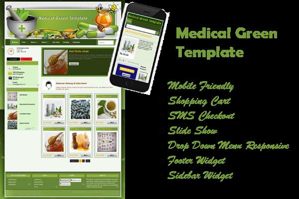 template toko herbal toko obat atau toko online lain tukang toko online. Black Bedroom Furniture Sets. Home Design Ideas