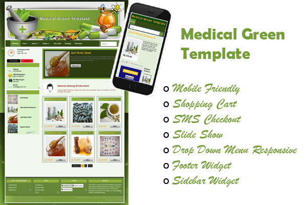 Medical Green Template