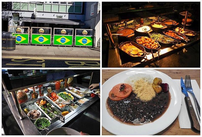 Diário de Bordo - 5 dias em Londres - Restaurante Preto