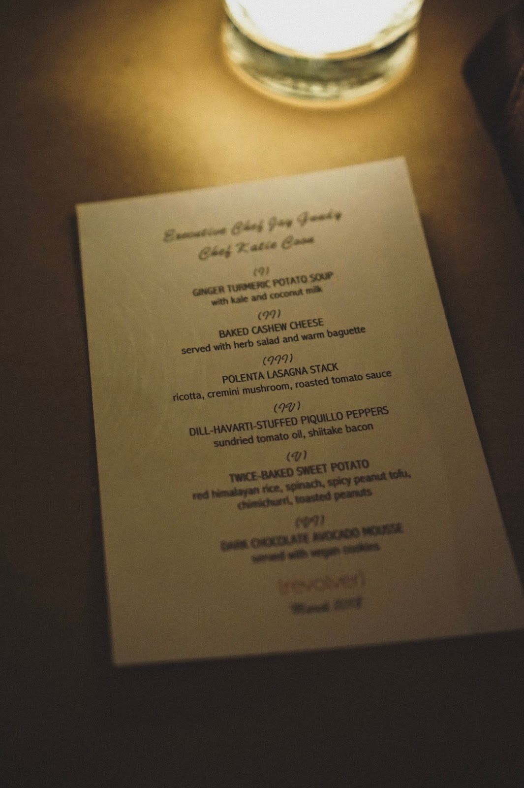 This Past Weekend I Had The Opportunity To Attend Vegan Goes Mainstream Dinner At Revolver Hamtramck Chef Jay Gundy Of Red Dunn Kitchen And