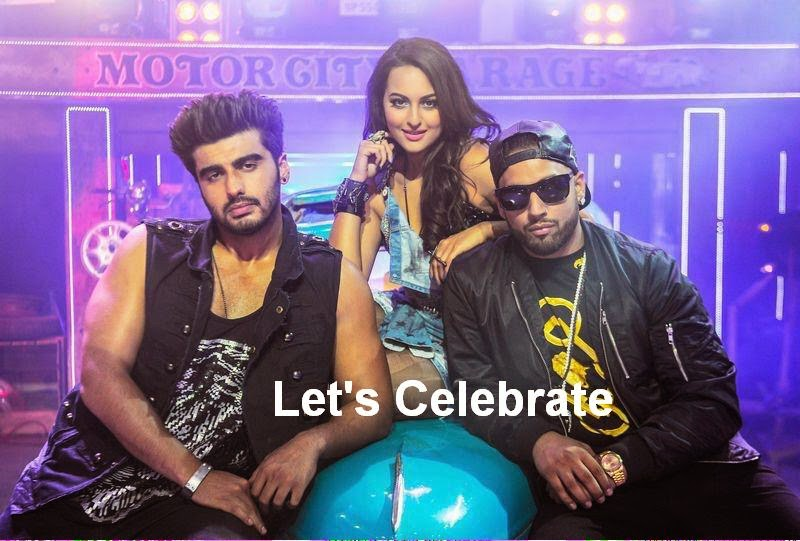 Let's Celebrate Official song video featuring Arjun Kapoor