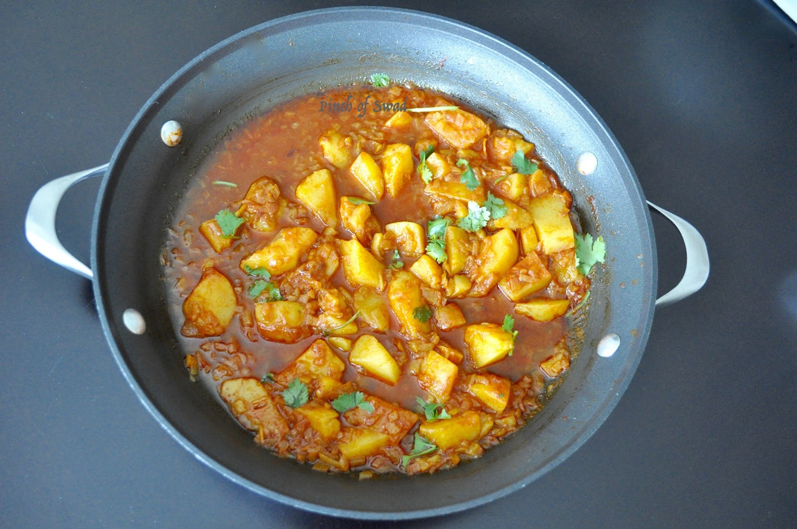 Pinch Of Swad Batata Song Spicy And Tangy Potato Curry
