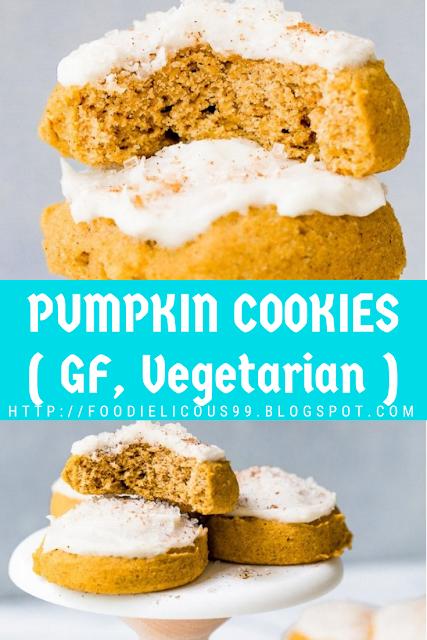 PUMPKIN COOKIES ( GF, Vegetarian )