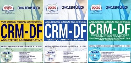 Apostila concurso CRM DF Serviço Administrativo