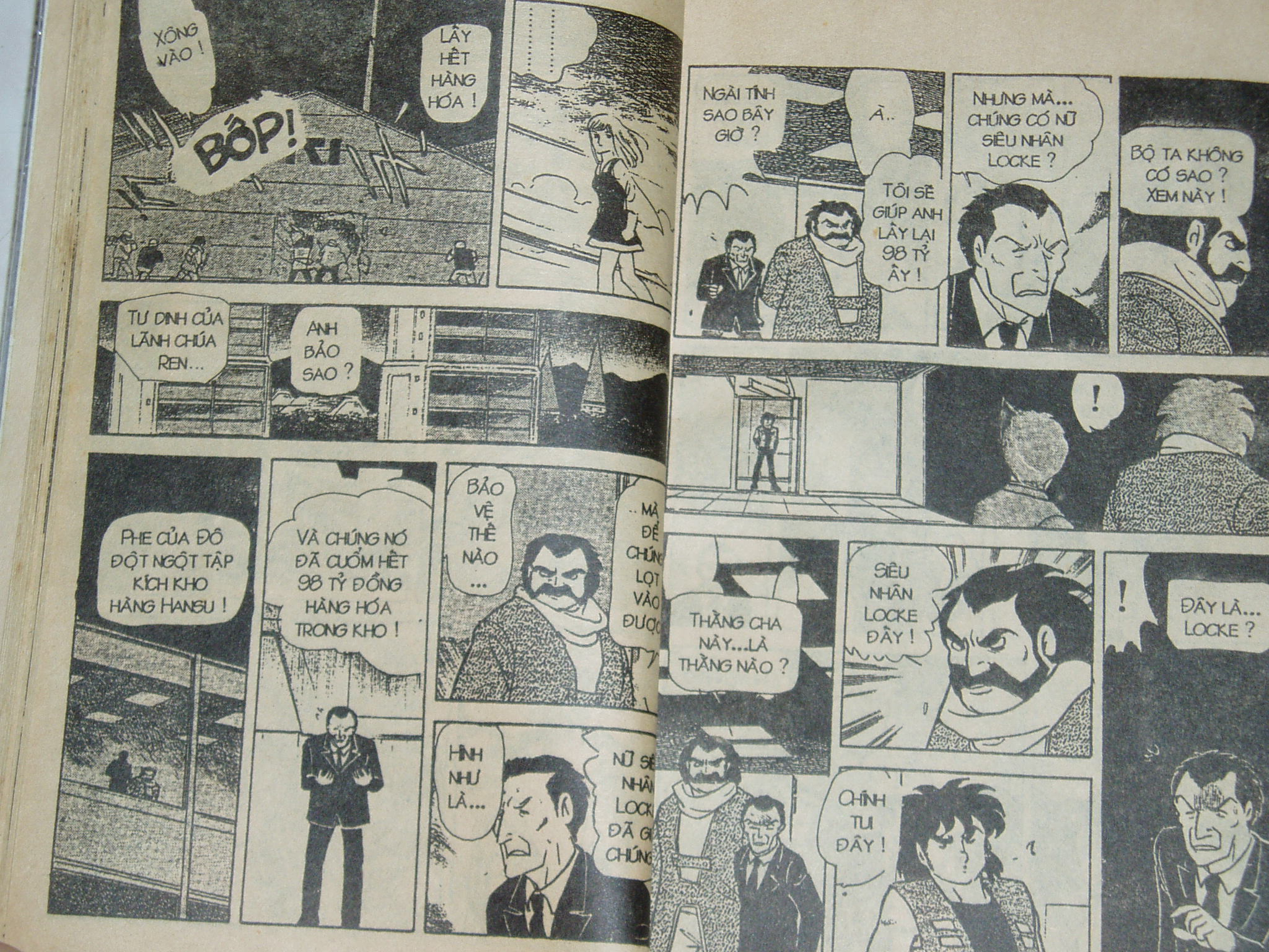 Siêu nhân Locke vol 18 trang 19