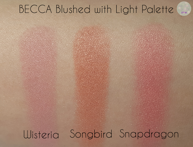 BECCA Blushed with Light Palette | Kat Stays Polished