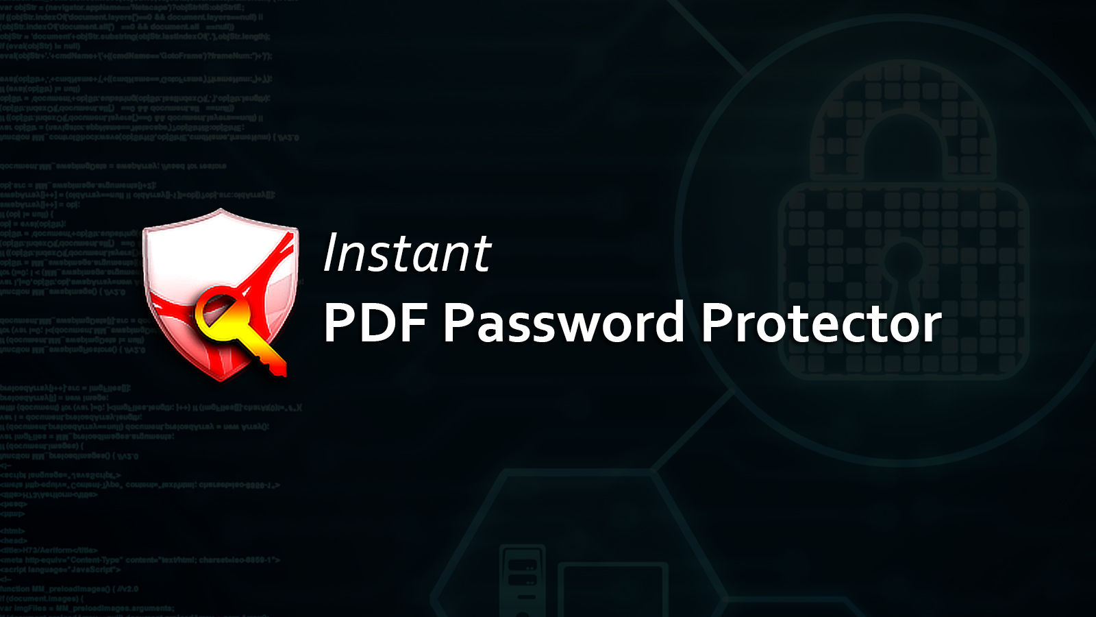 save pdf with password free