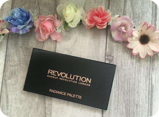 makeup revolution radiance palette