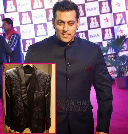 What will Salman Khan be Wearing at Filmfare Awards 2015?