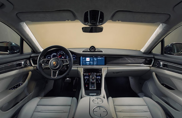 2016 Porsche Panamera Turbo review INTERIOR