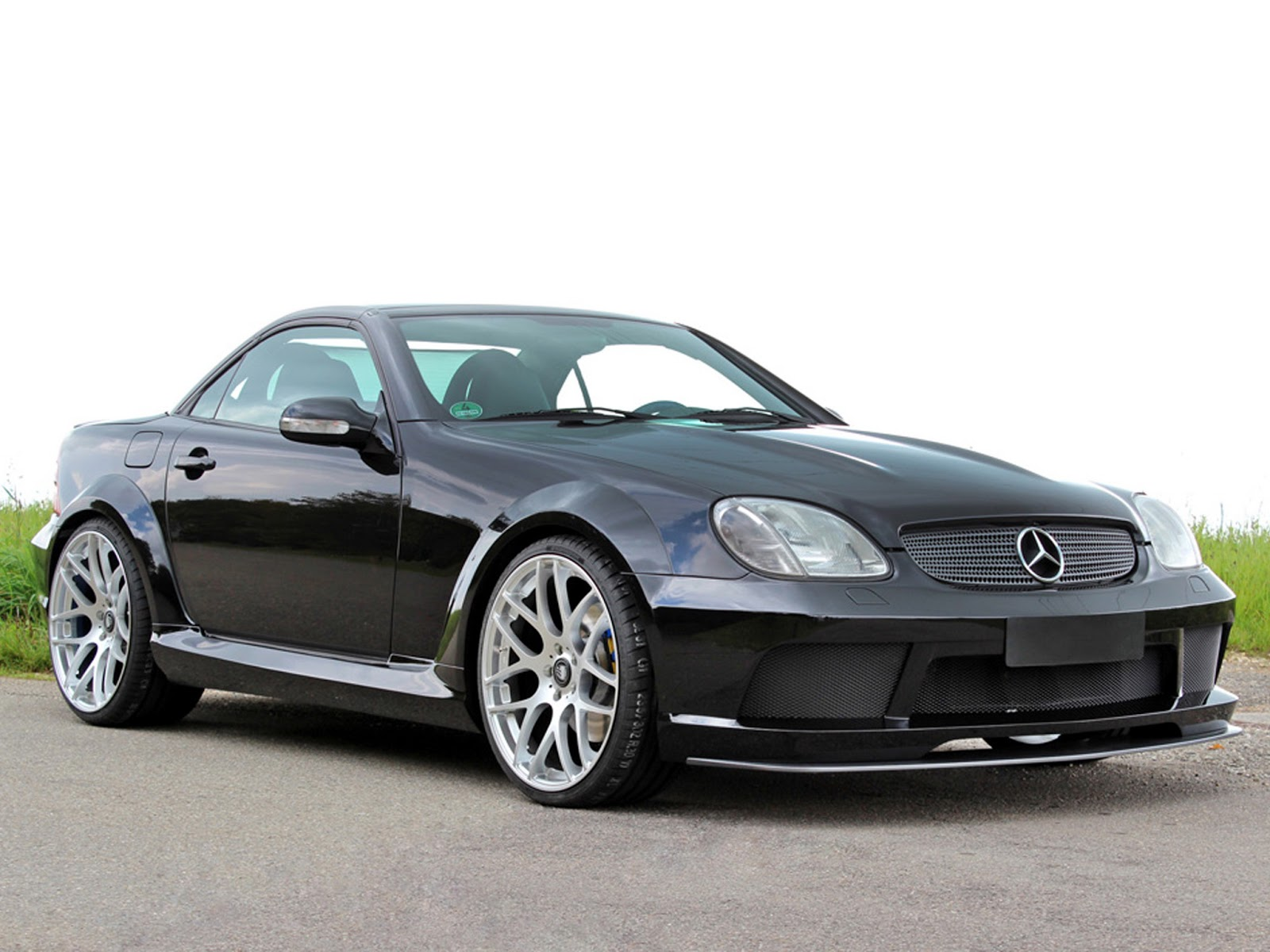 mercedes benz r170 slk 32 amg lumma design benztuning. Black Bedroom Furniture Sets. Home Design Ideas