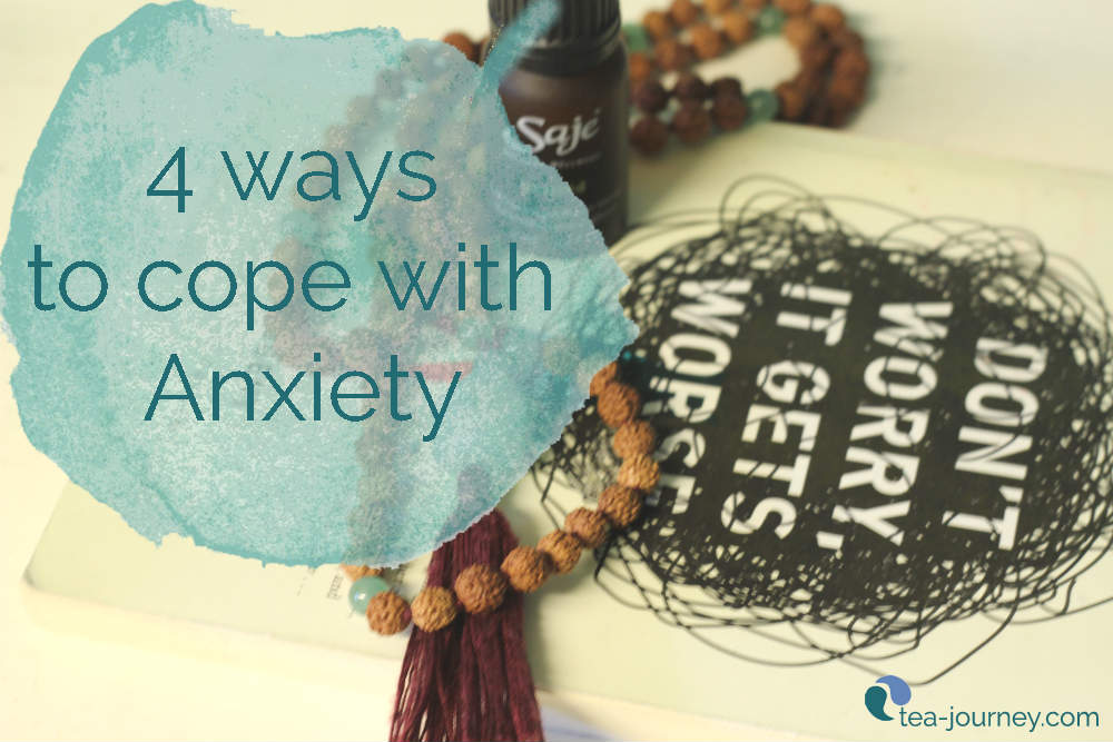 Anxiety affects all of us, for a select group it is more prevalent. Wherever you are with your own anxiety here are 4 ways that can help you get through it and live with it.
