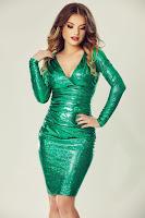 Rochie Luna Verde • Miss Grey