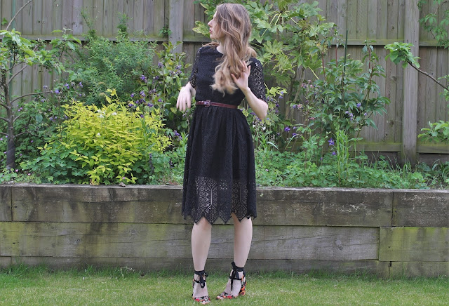 Lace Black H&M Dress