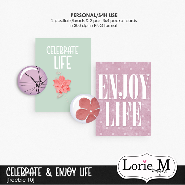 Celebrate And Enjoy Life BBD, 50% OFF Individual Packs + Freebie