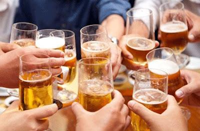 Bí quyết uống rượu bia nhiều mà không say
