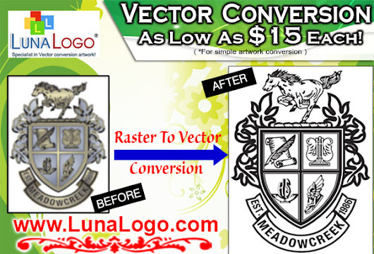 LunaLogo.com - Vector Conversion, Logo Creation & Graphic Design Company