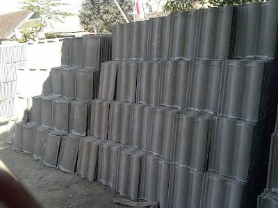 genteng beton 2017, genteng beton anti bocor, genteng cor