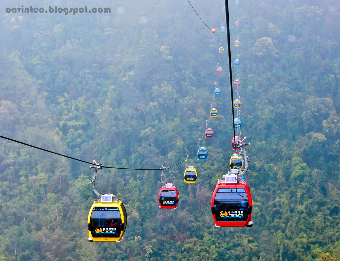 how to travel from taichung to sun moon lake