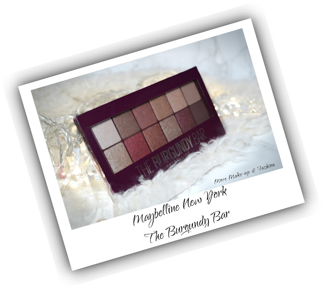 Maybelline The Burgundy Bar Palette Review