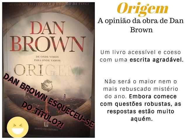 Review of Origin written by Dan Brown