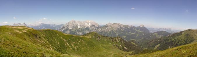 Panorama vom Blaseneck | Theklasteig | Eisenerzer Alpen Höhenweg