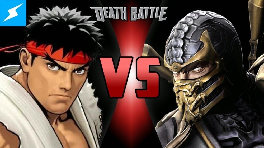 http://nerduai.blogspot.com.br/2014/11/death-battle-ryu-vs-scorpion.html
