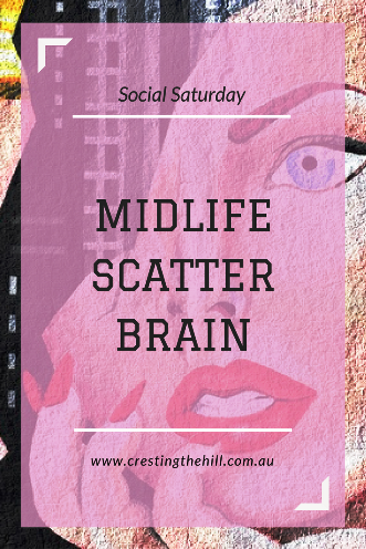 Today's guest is Min from Write in the Middle and she's discussing brain fog in Midlife.